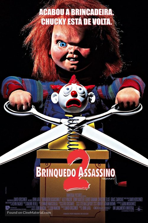 Child's Play 2 - Brazilian Movie Poster