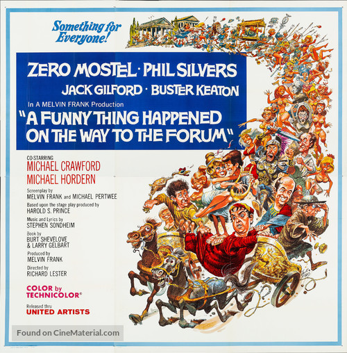 A Funny Thing Happened on the Way to the Forum - Movie Poster