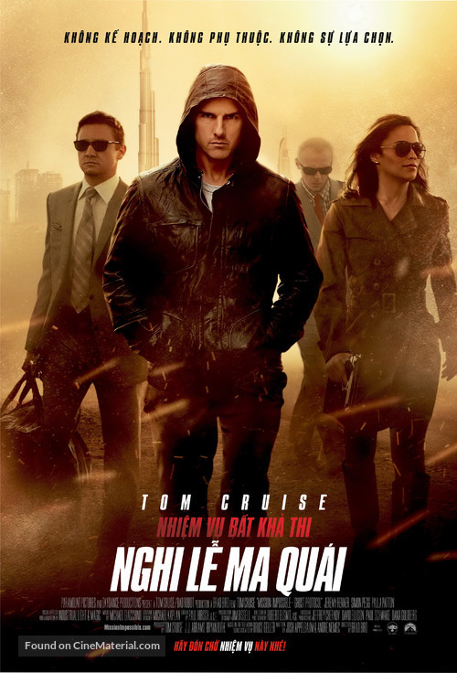 Mission: Impossible - Ghost Protocol - Vietnamese Movie Poster