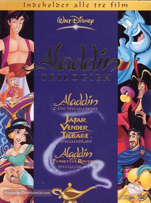 Aladdin And The King Of Thieves - Danish DVD movie cover