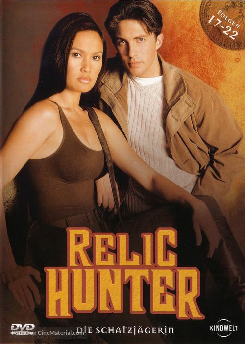 """Relic Hunter"" - German DVD movie cover"