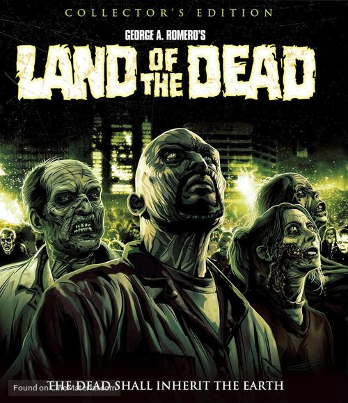 Land Of The Dead - Blu-Ray movie cover