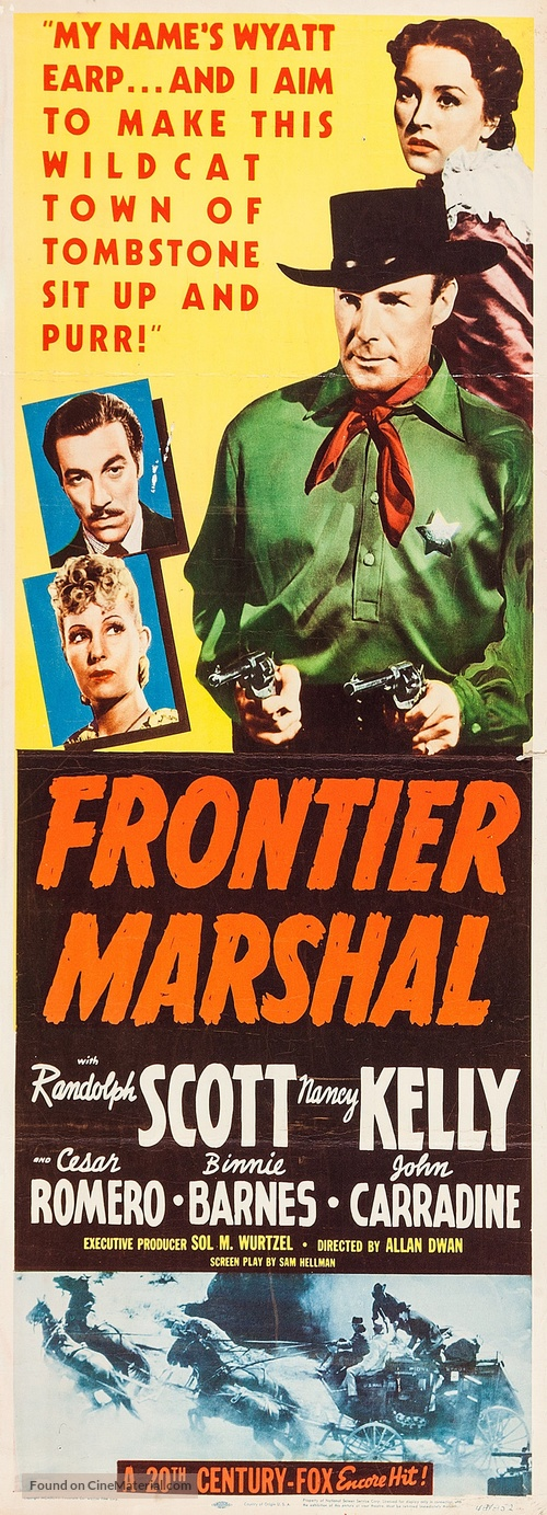 Frontier Marshal - Movie Poster