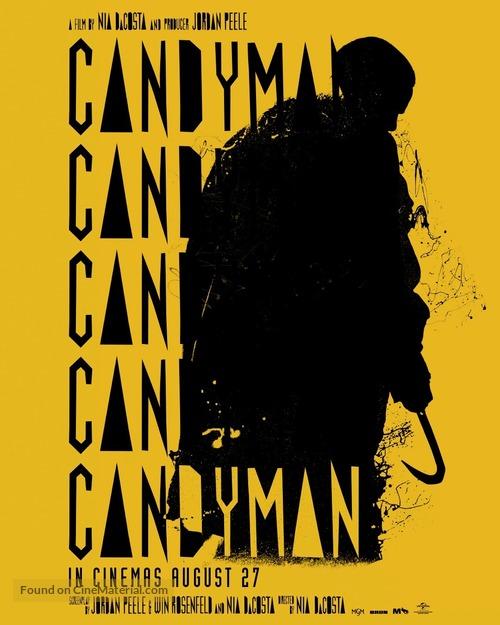 Candyman - British Movie Poster