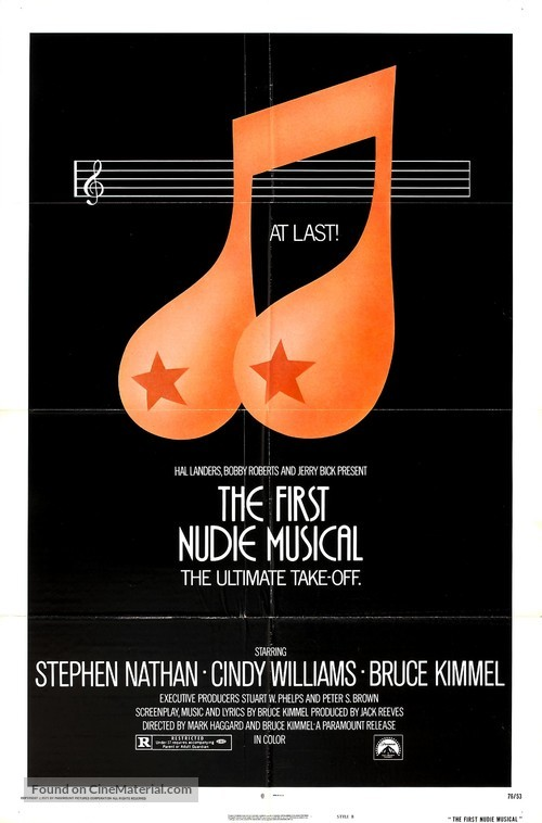 The First Nudie Musical - Movie Poster