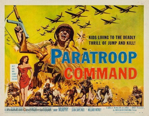 Paratroop Command - Movie Poster