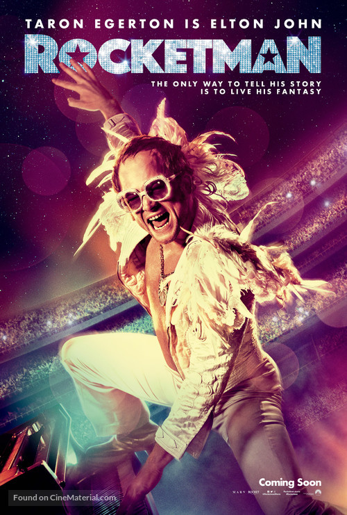 Rocketman - Movie Poster