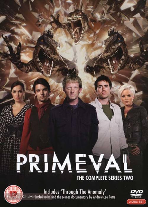 """""""Primeval"""" - DVD movie cover"""