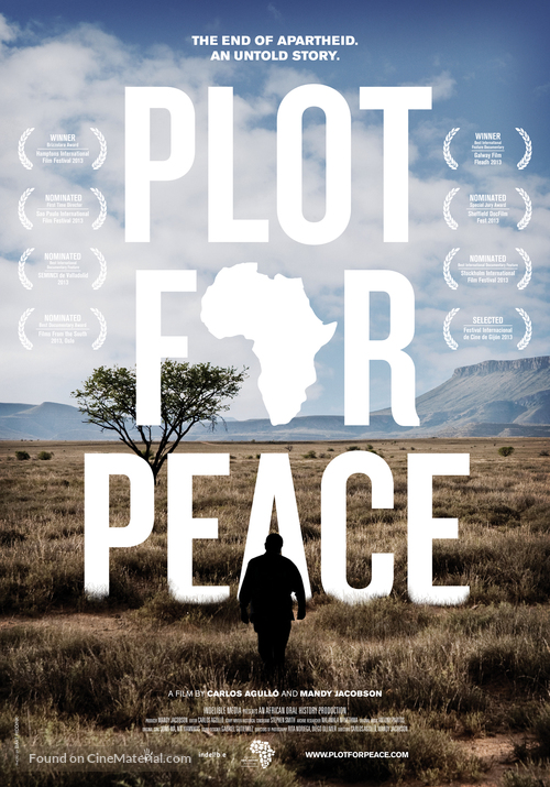 Plot for Peace - South African Movie Poster