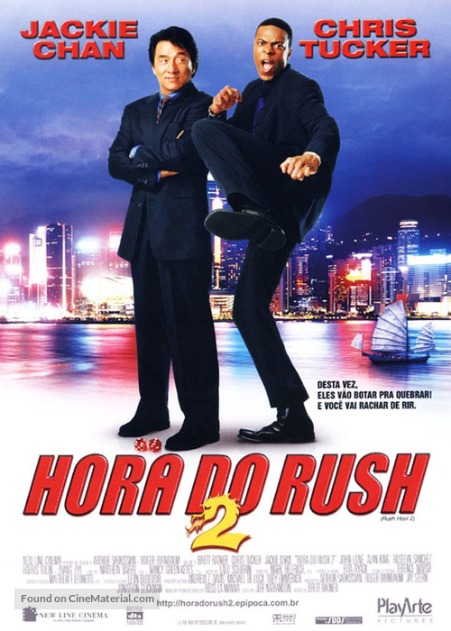 Rush Hour 2 - Brazilian Movie Poster