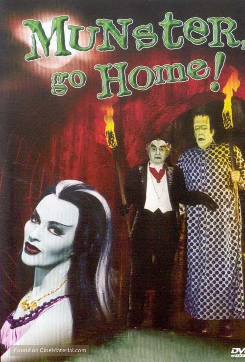 Munster, Go Home - Movie Cover