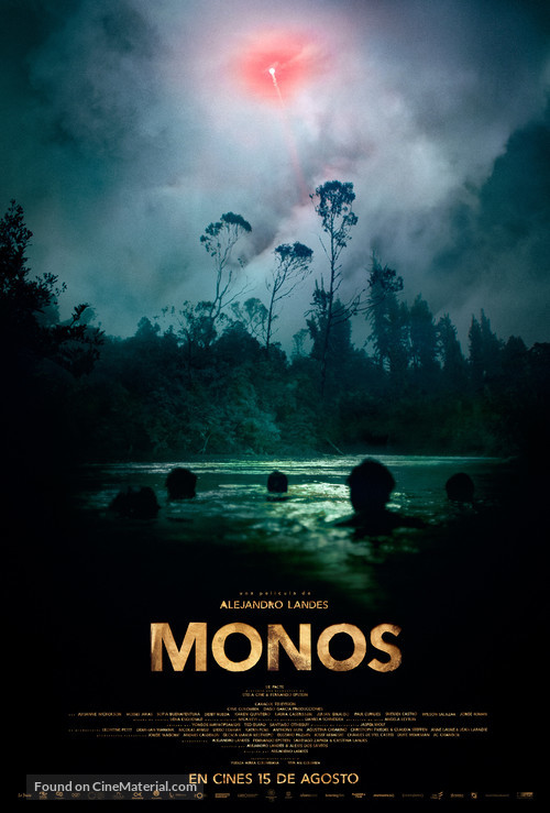 Monos - Colombian Movie Poster