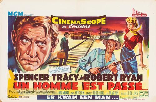 Bad Day at Black Rock - Belgian Movie Poster