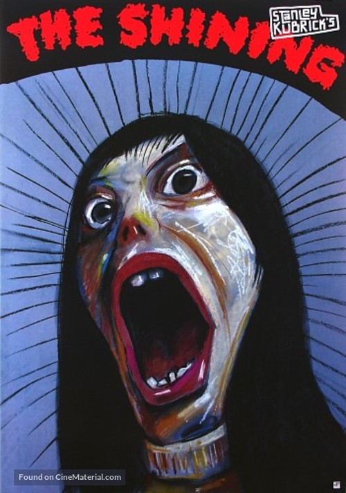The Shining - Polish Movie Poster