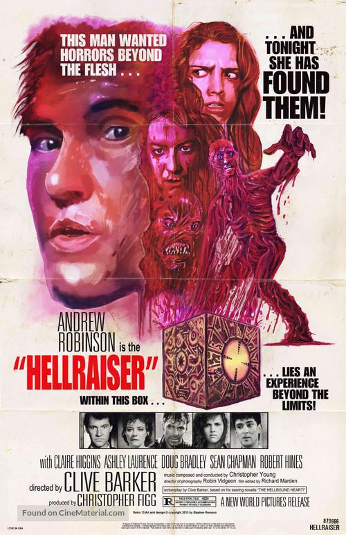 Hellraiser - Re-release movie poster