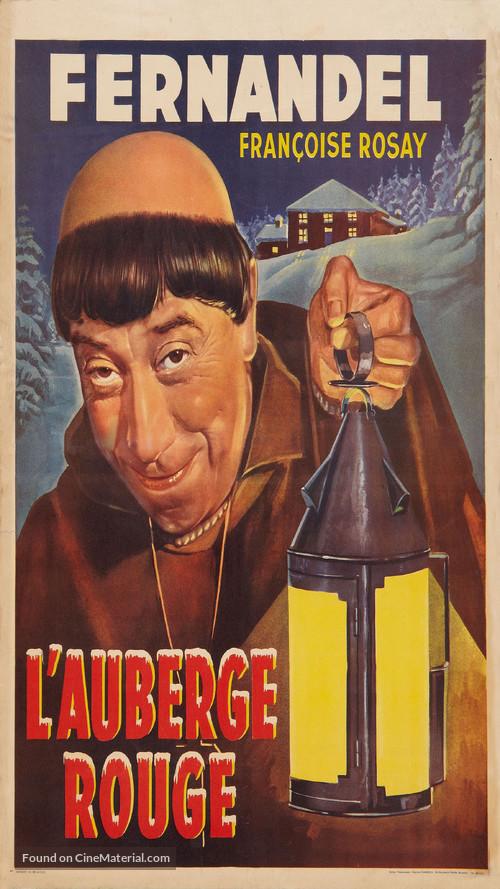 Auberge rouge, L' - Belgian Movie Poster