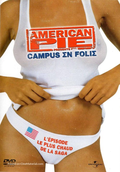 American Pie Presents: Beta House - French DVD movie cover