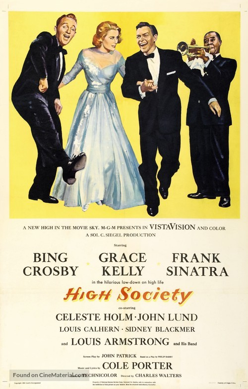 High Society - Movie Poster