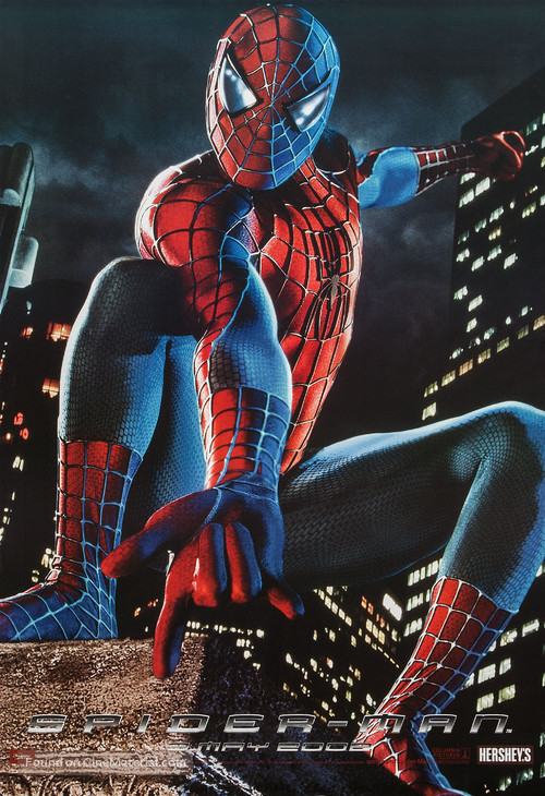Spider-Man - Canadian Movie Poster