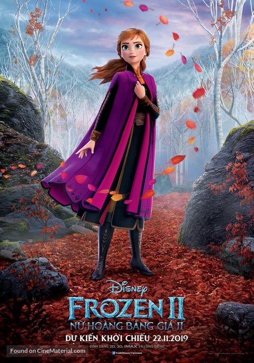 Frozen II - Vietnamese Movie Poster