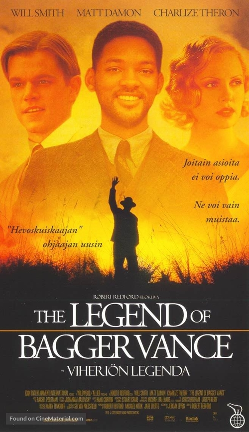 The Legend Of Bagger Vance - Finnish Movie Poster