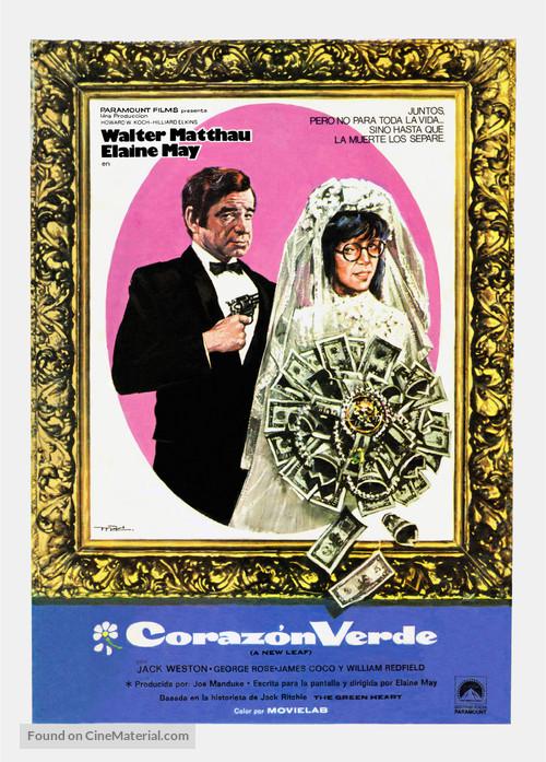 A New Leaf - Swedish Movie Poster