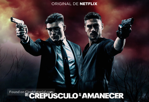 """""""From Dusk Till Dawn: The Series"""" - Mexican Movie Poster"""