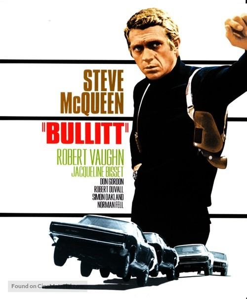 Bullitt - Blu-Ray cover