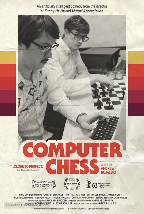 Computer Chess - Movie Poster