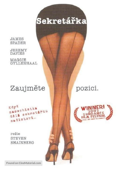 Secretary - Czech DVD movie cover
