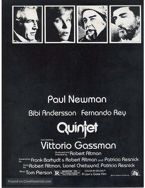 Quintet - Movie Poster