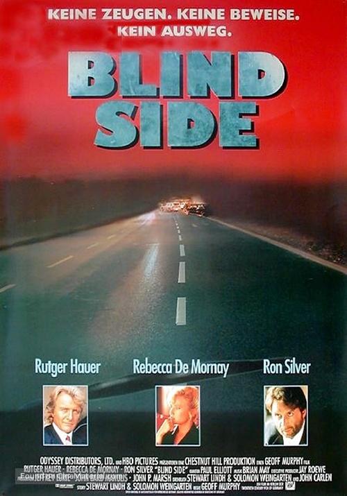 Blind Side - German Movie Poster