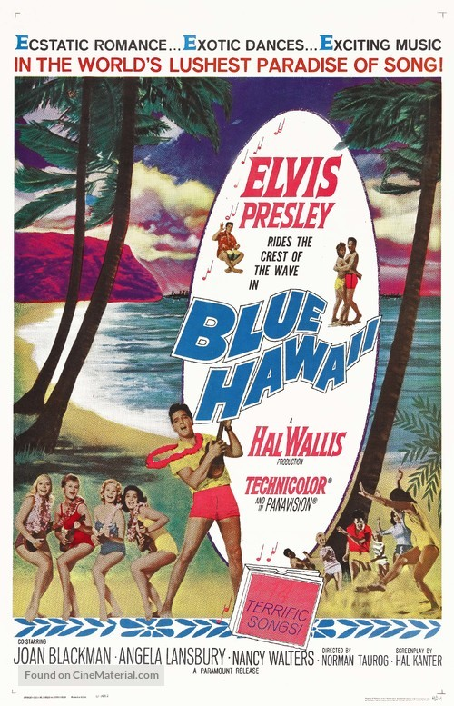 Blue Hawaii - Movie Poster