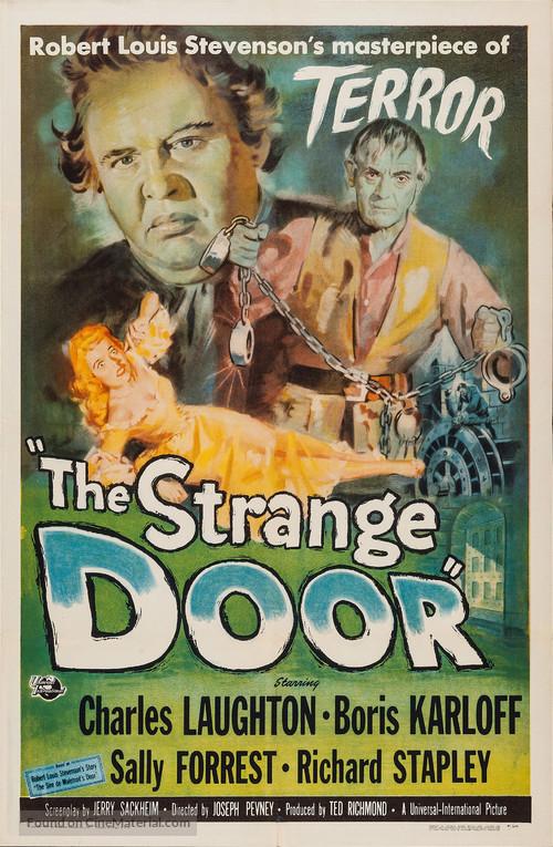 The Strange Door - Movie Poster