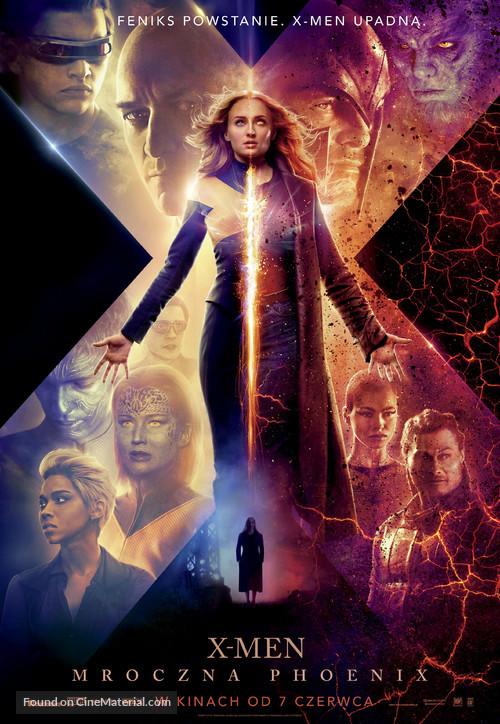 Dark Phoenix - Polish Movie Poster