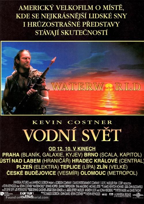Waterworld - Czech Movie Poster