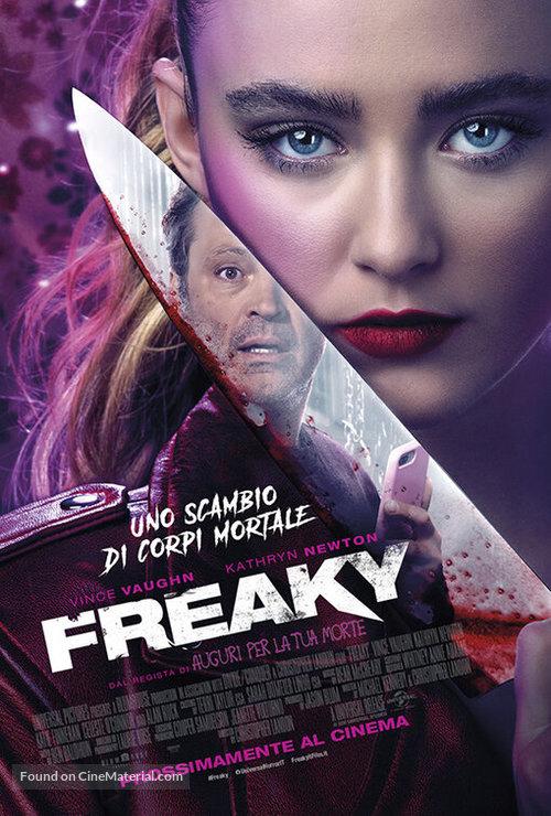 Freaky - Italian Movie Poster
