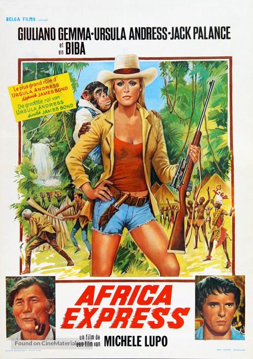 Africa Express - Belgian Movie Poster