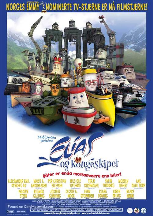 Elias og kongeskipet - Norwegian Movie Poster