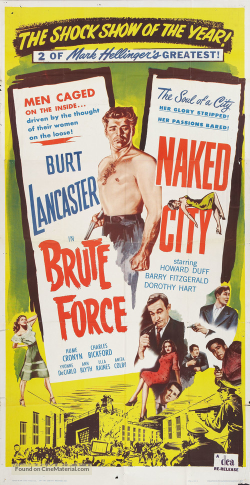 Brute Force - Combo movie poster