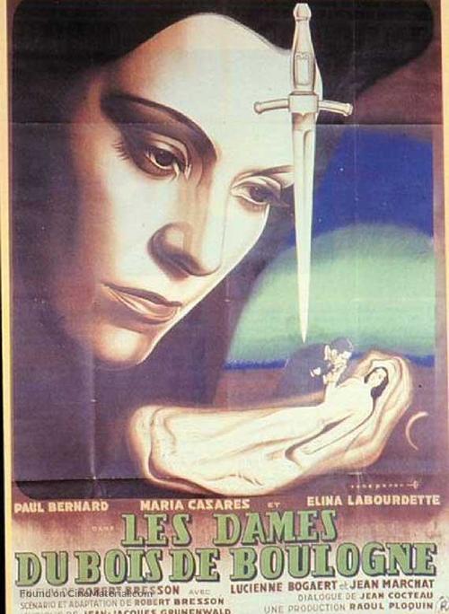 Dames du Bois de Boulogne, Les - French Movie Poster
