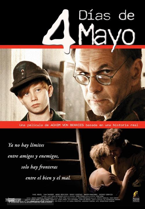 4 Tage im Mai - Spanish Movie Poster