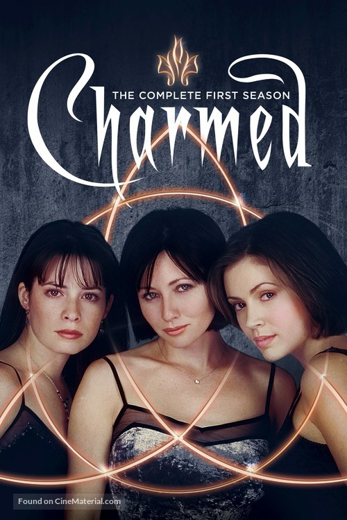 """""""Charmed"""" - Blu-Ray movie cover"""