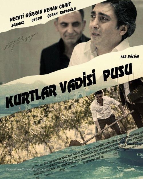 """Kurtlar vadisi - Pusu"" - Turkish Movie Poster"