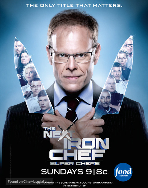 """""""The Next Iron Chef"""" - Movie Poster"""
