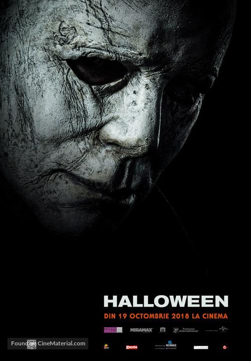 Halloween - Romanian Movie Poster