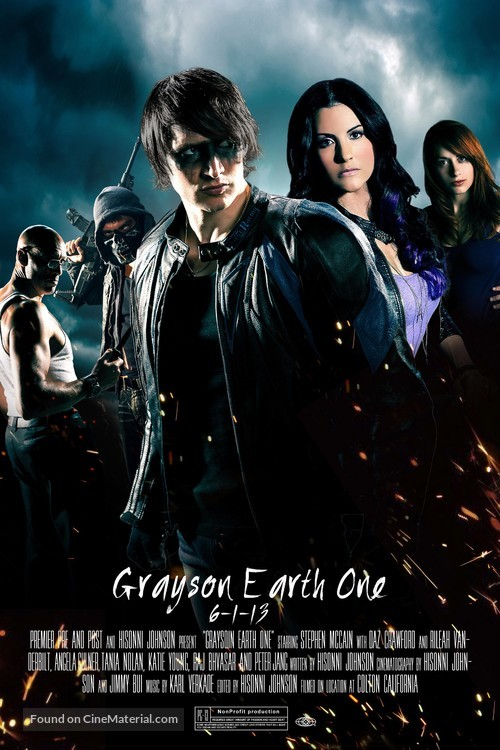 """""""Grayson: Earth One"""" - Movie Poster"""