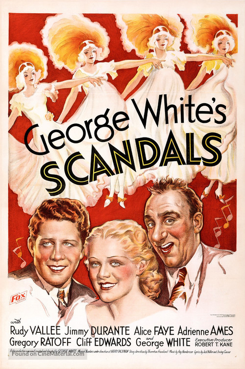 George White's Scandals - Movie Poster