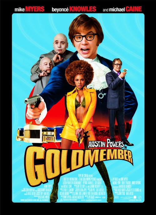 Austin Powers in Goldmember - Danish Movie Poster