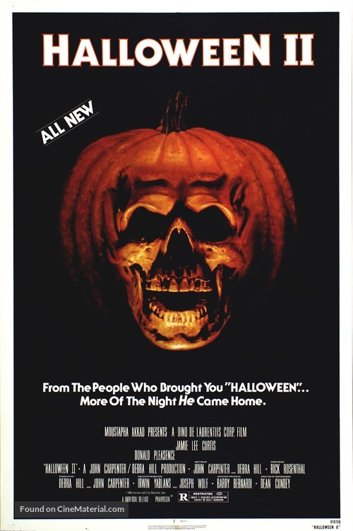 Halloween II - Movie Poster